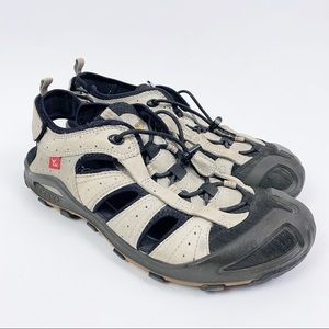 ECCO Cerro Sandals Leather Hiking Trekking Shoes